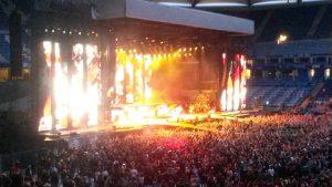 Metallica Bühnenbild